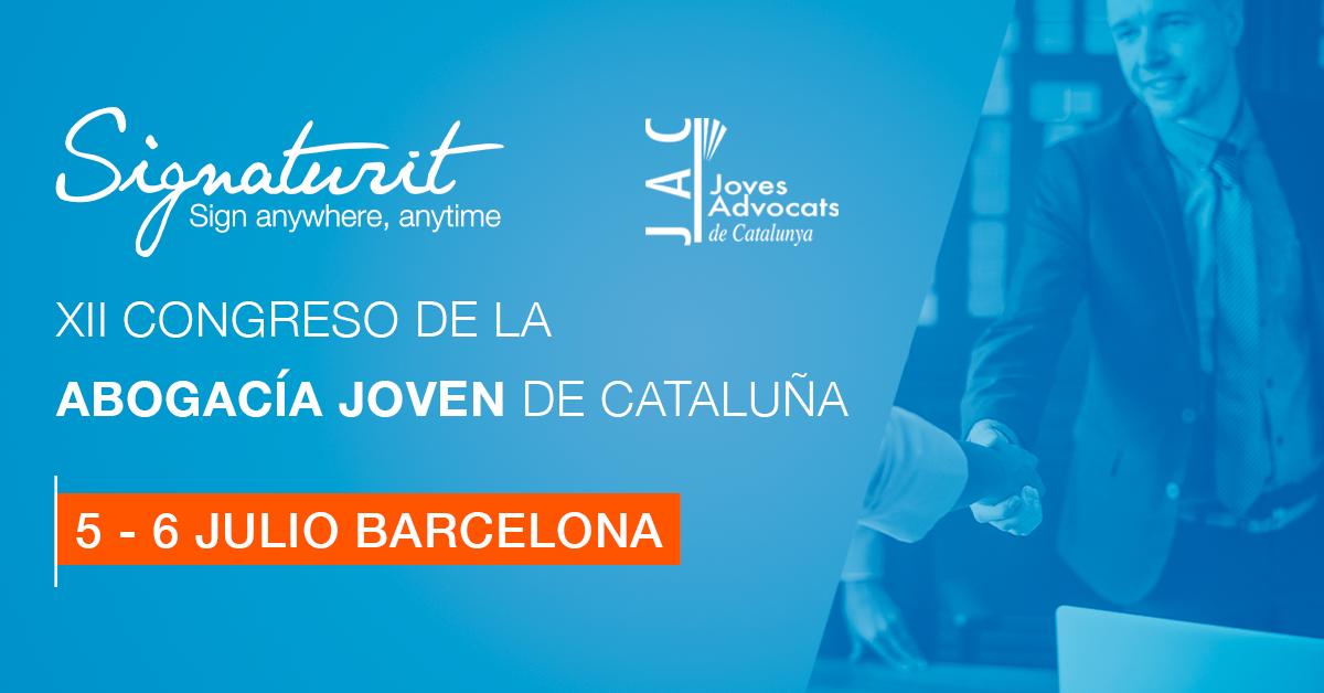 Signaturit en el Congreso de la Abogacía Joven de Cataluña