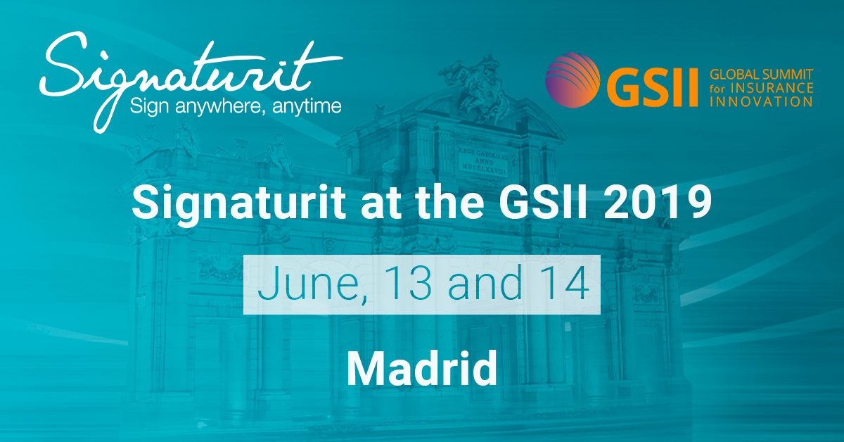 Signaturit, present at the Global Summit for Insurance Innovation