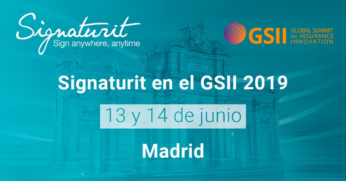 Signaturit, presente en el Global Summit for Insurance Innovation