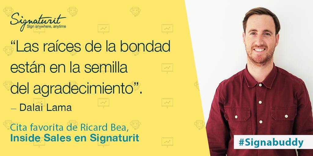 SignabuddiesRicard Bea, Inside Sales Manager en Signaturit