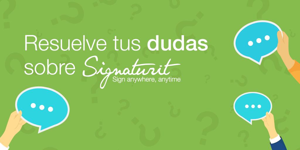 6 preguntas sobre los servicios de Signaturit