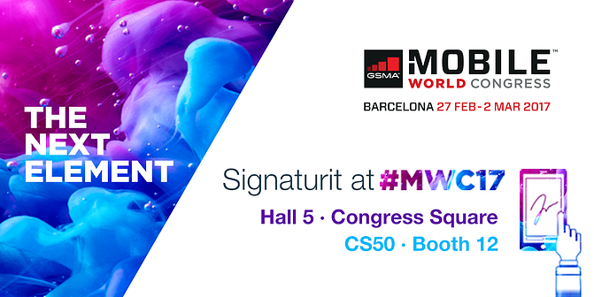 Signaturit will participate in the Mobile World Congress again
