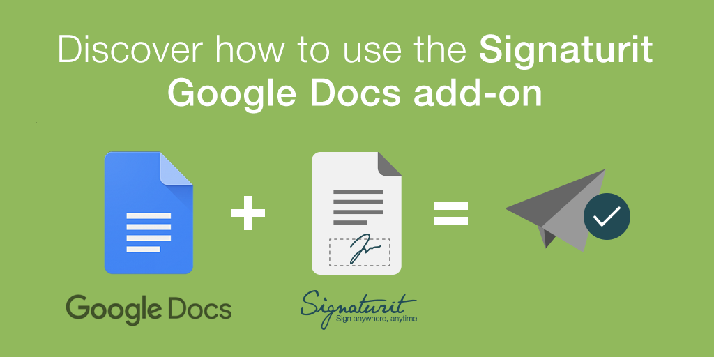 Google_Docs_Signaturit_for_sending_documents_to_be_signed