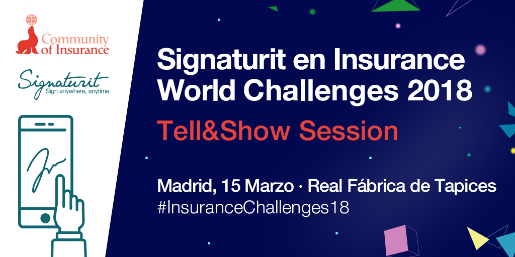 Signaturit at the Insurance World Challenges 2018.png