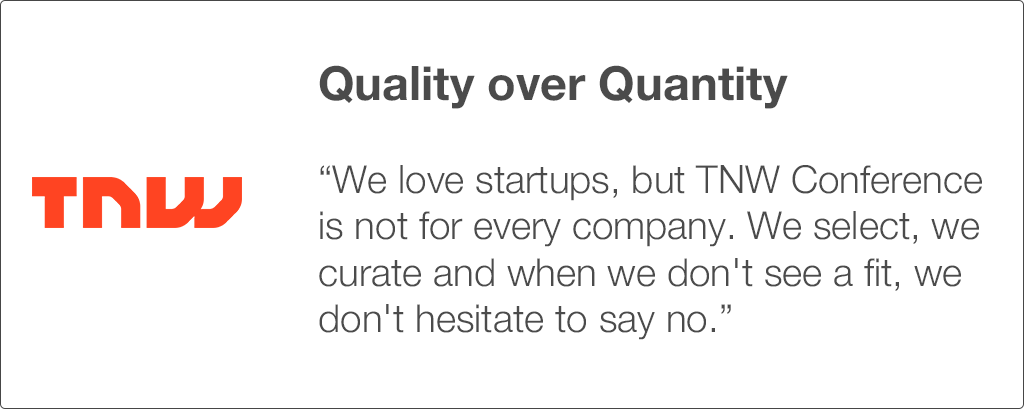 TNW Conference 2017_Quality startups over quantity.png