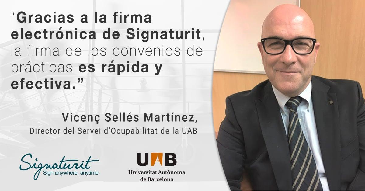 Cómo la Universidad Autónoma de Barcelona utiliza la firma electrónica