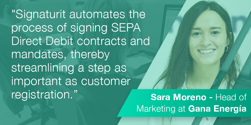 How Gana Energía uses the electronic signature to digitize its onboarding process