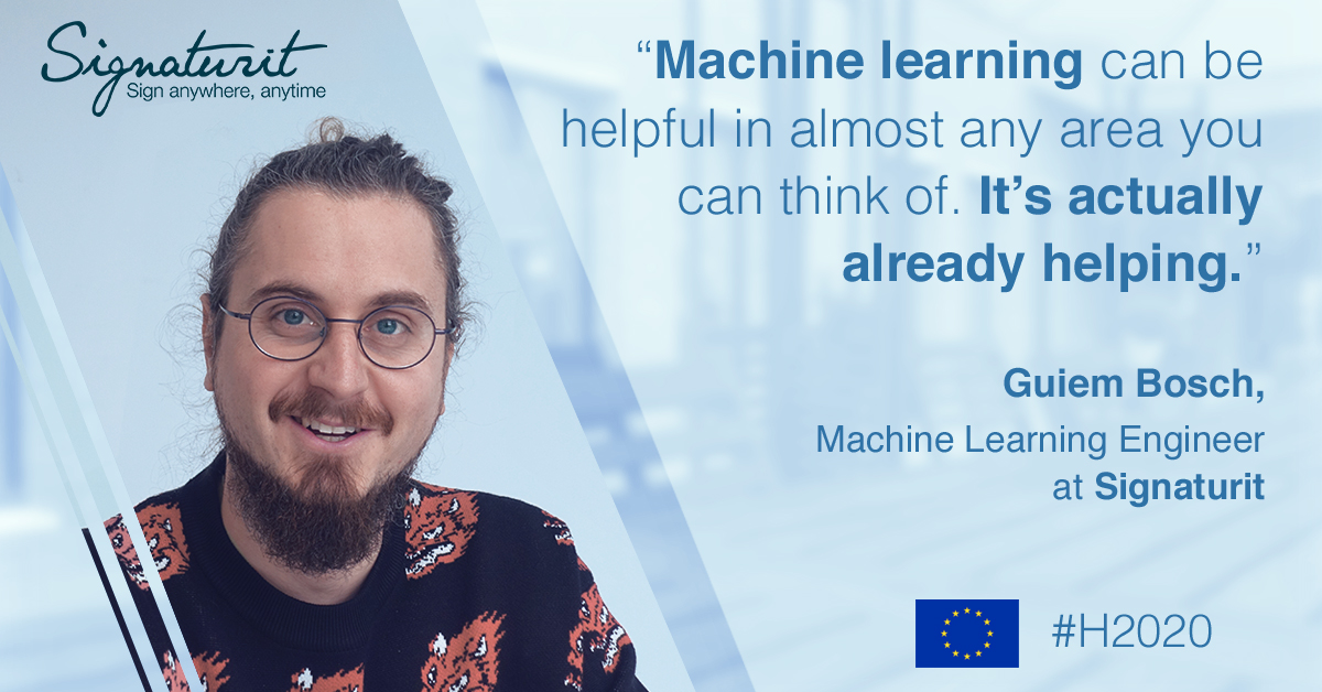 What is machine learning and what is useful for? An interview with our engineer Guiem Bosch