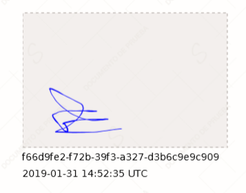 New biometric reference for advanced signatures