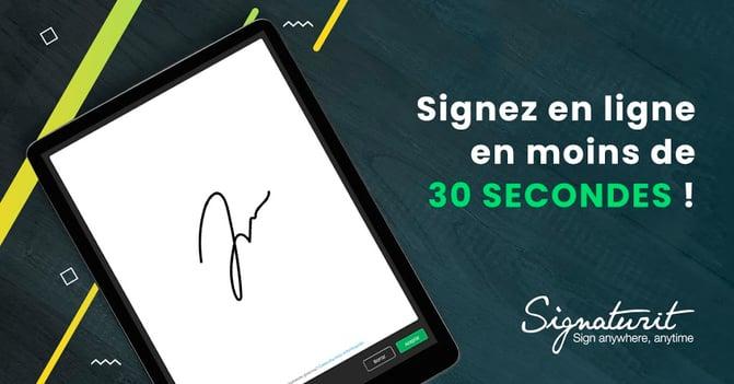 Signer en ligne
