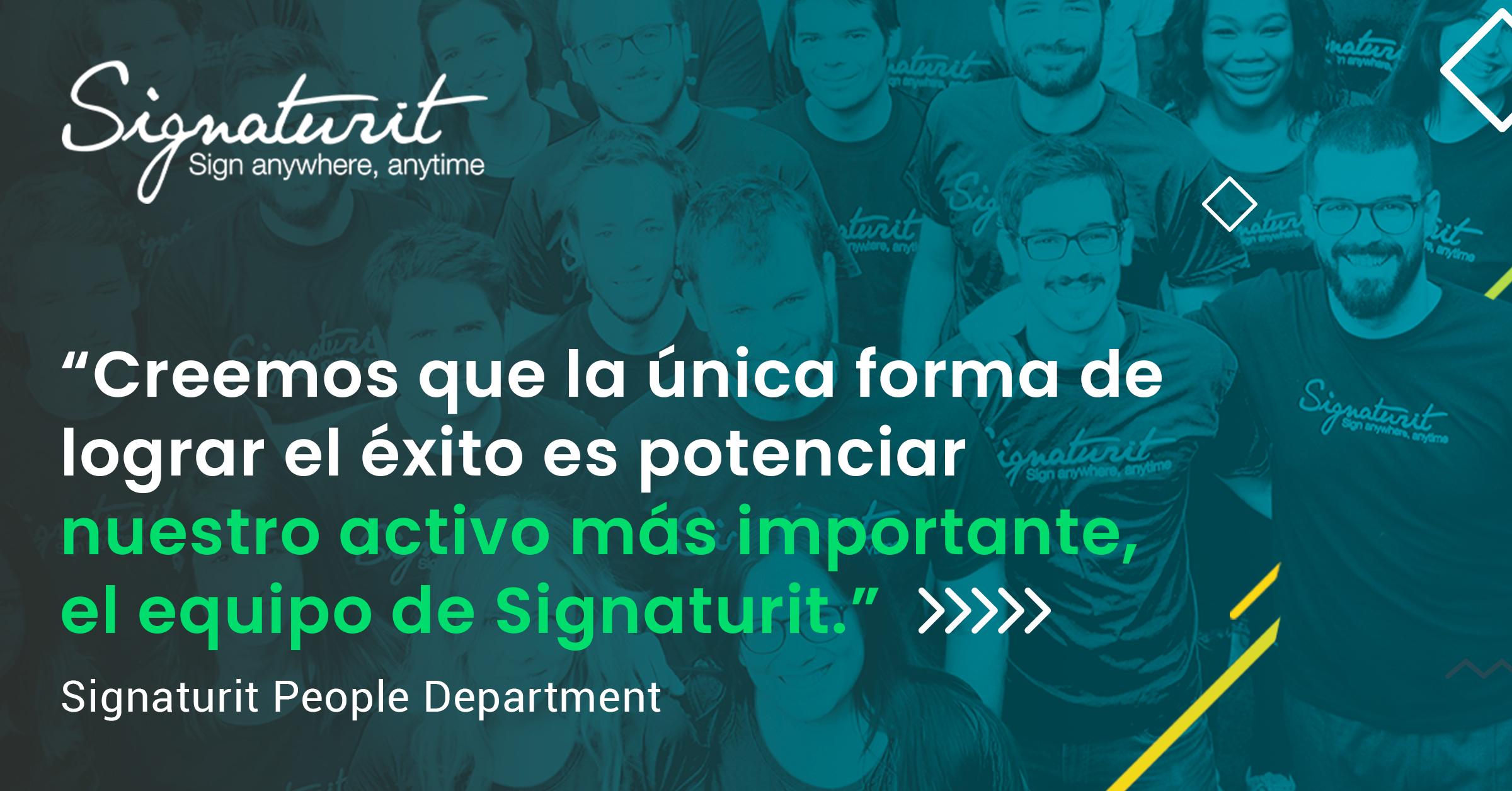 II Manifiesto de Signaturit: crear líderes, no jefes