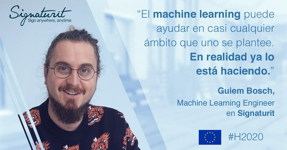 Qué es machine learning y para qué sirve Entrevista a nuestro ingeniero Guiem Bosch