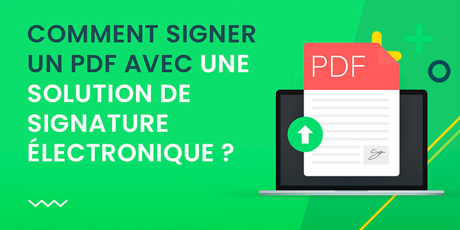 Signer un PDF en ligne