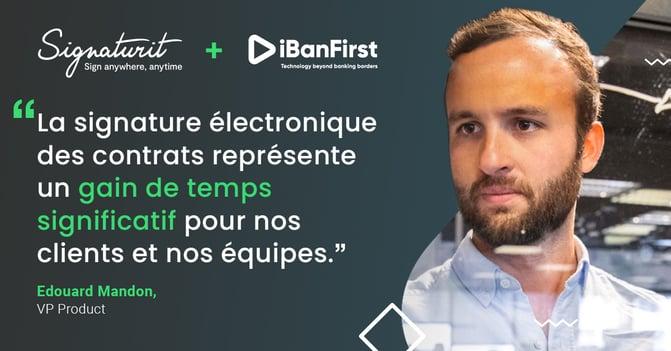 Cas client signature électronique iBanFirst