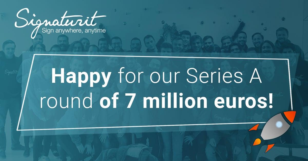 Signaturit closes a series A round of 7 million euros