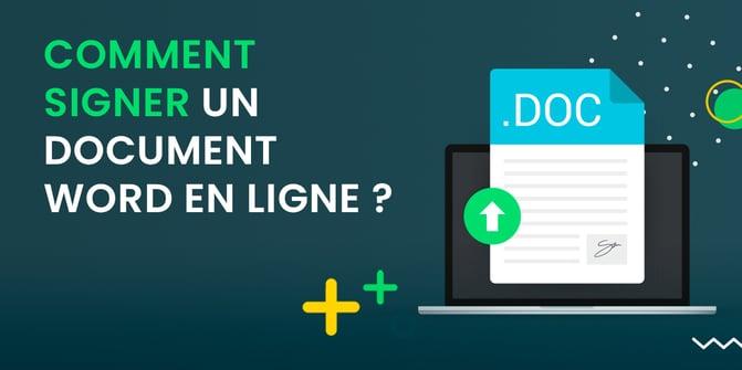 Signe document Word