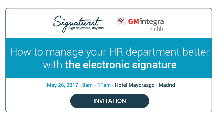 Event: How to improve HR management with the electronic signature