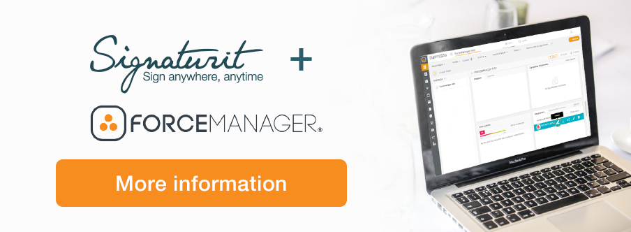 Signaturit Forcemanager Integration