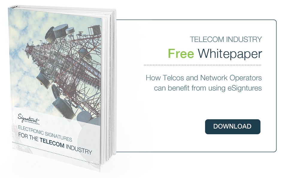 Whitepaper eSignature for Telcos and Network Operators