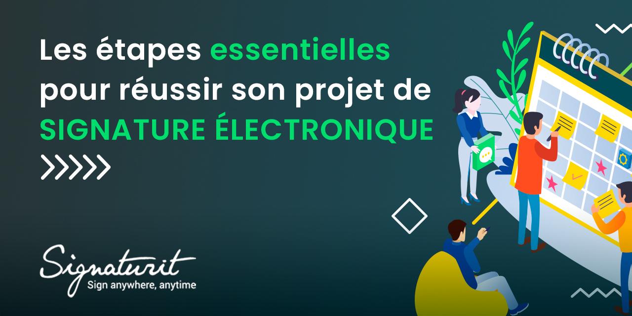 projet signature électronique