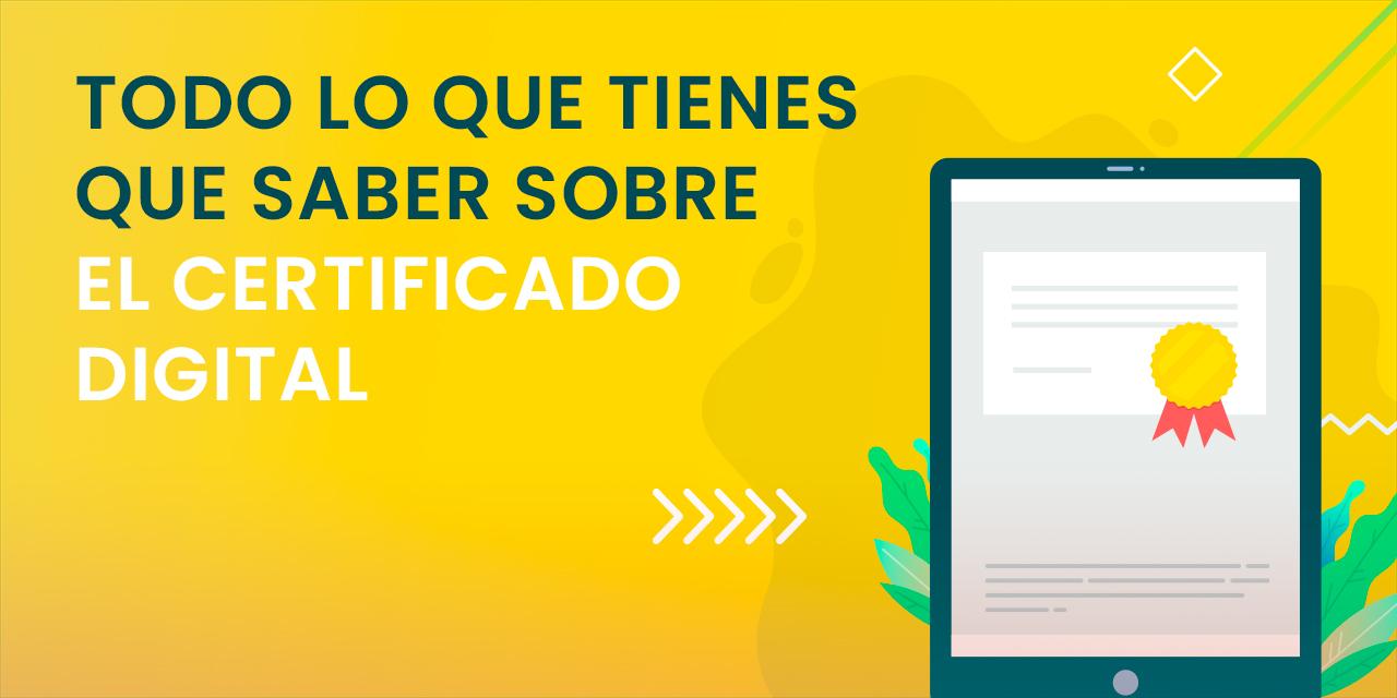 ¿Qué es un certificado de firma electrónica?